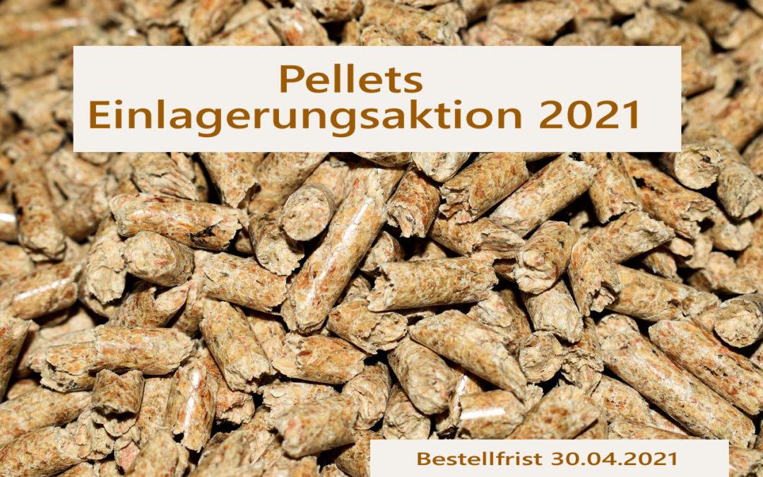 Pelletseinlagerungsaktion 2021