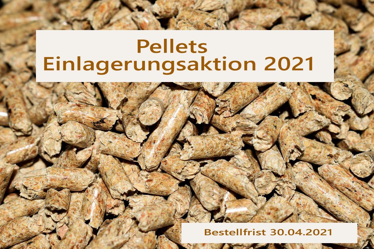 Pellets-Einlagerungsaktion 2021